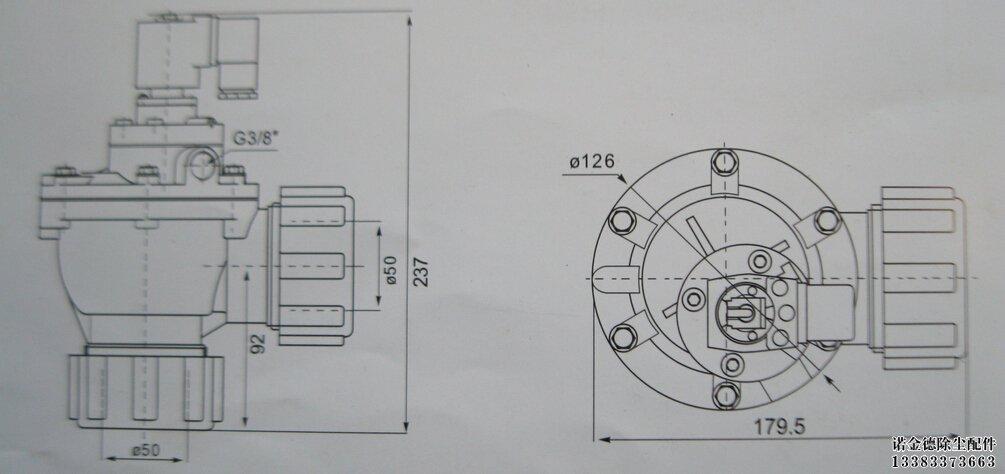 网站首页 > 除尘器配件 > 电磁脉冲阀 >             电磁阀是用来