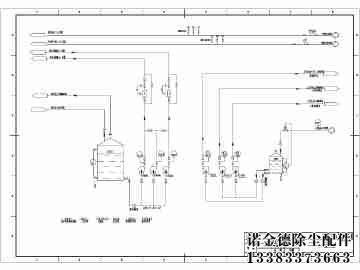 工作原理:      clt/a型旋风除尘器是利用旋转气流所产生的离心力